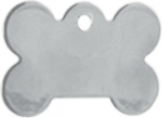 Stainless Steel Bone Shaped Pet Tag Dog Tags