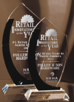 BLACK CURVE/CLEAR CRYSTAL AWARD EXCLUSIVE AWARDS