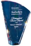 Crystal Sail with Dichroic Mirror EXCLUSIVE AWARDS