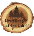 Old West Log Magnet Miscellaneous