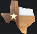 Republic of Texas cutting board Trays