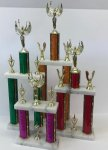 Champion Series Two Tier Trophies